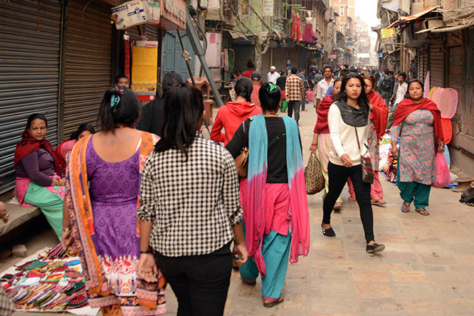 Nepal Kathmandu City People