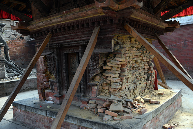 Nepal Kathmandu Durbar Earthquake Support