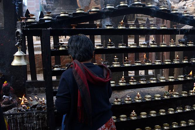 Nepal Kathmandu Durbar Shrine