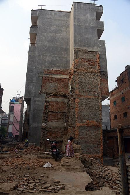 Nepal Kathmandu Earthquake Damage