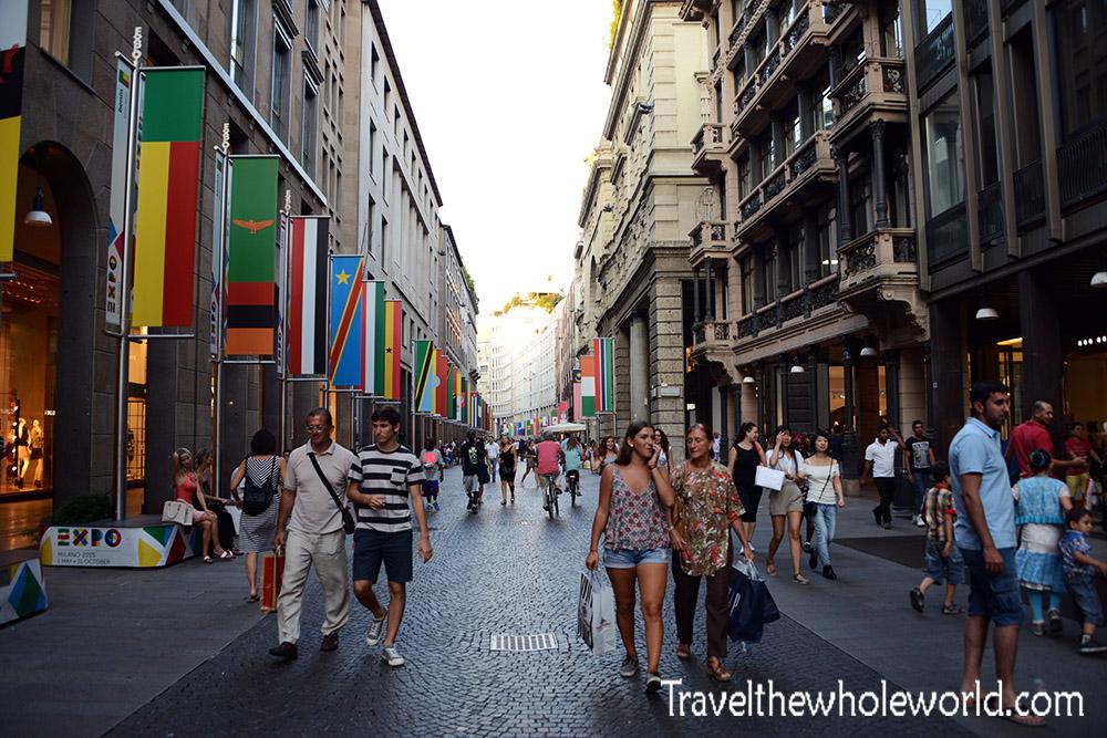 Italy Milan Downtown