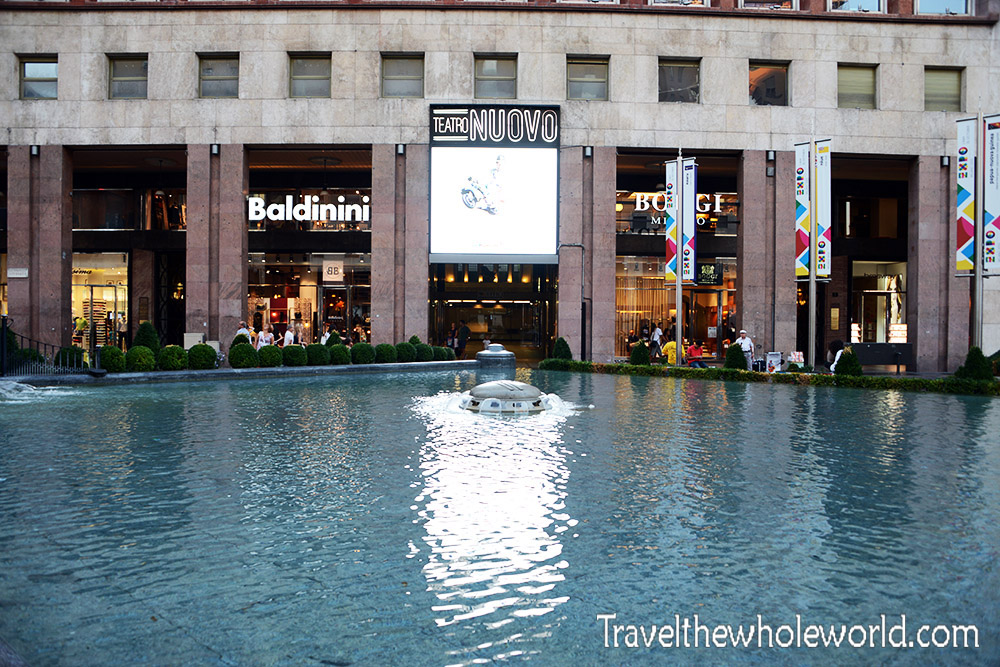 Italy Milan Fountain