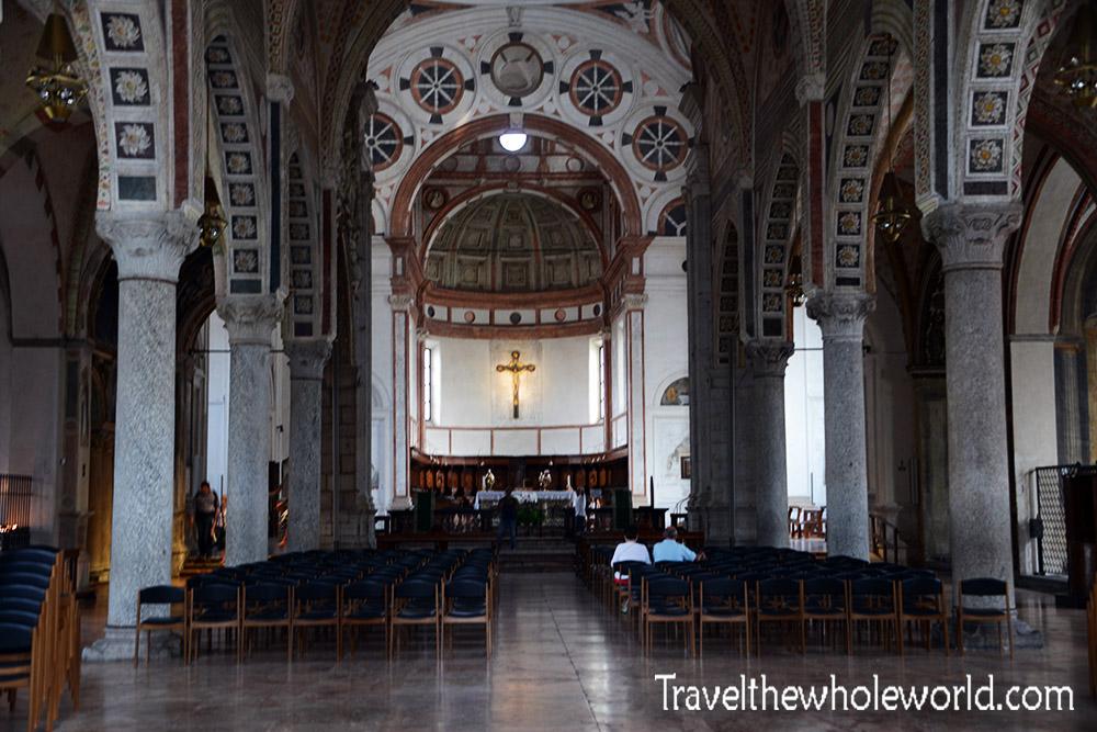 Inside the Santa Maria delle Grazie
