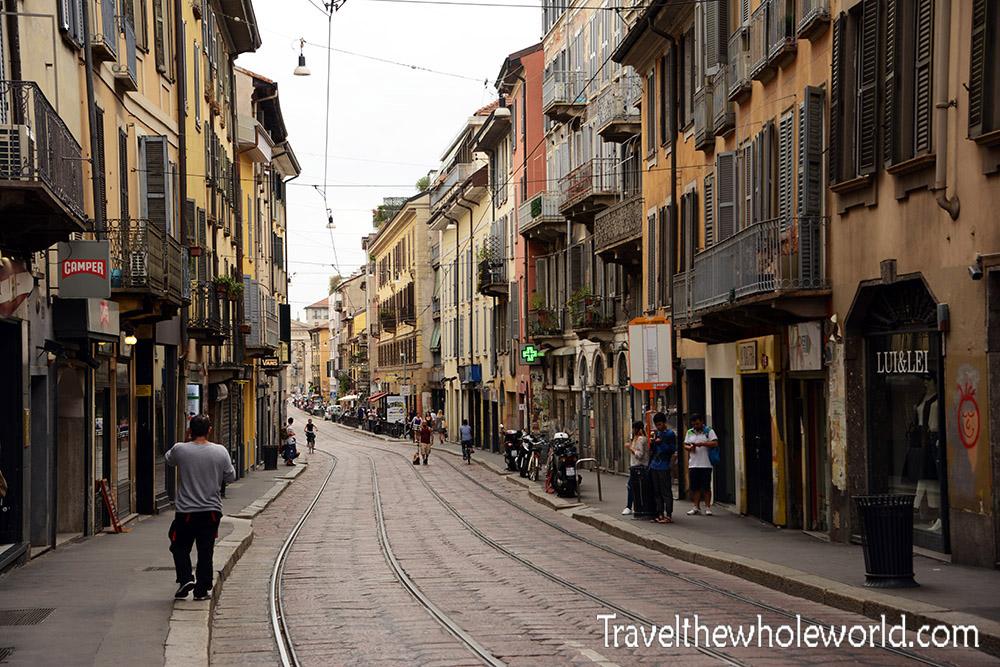 Travel Photos Italy Milan Old Street