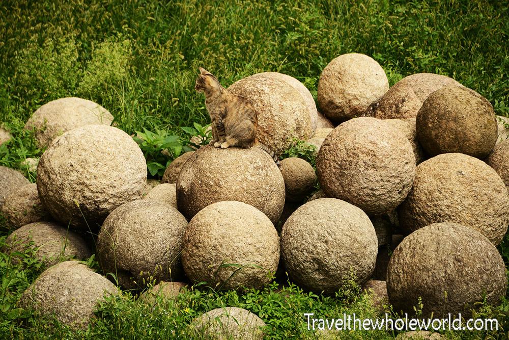 Travel Photos Milan Italy Sforzesco Stone Balls