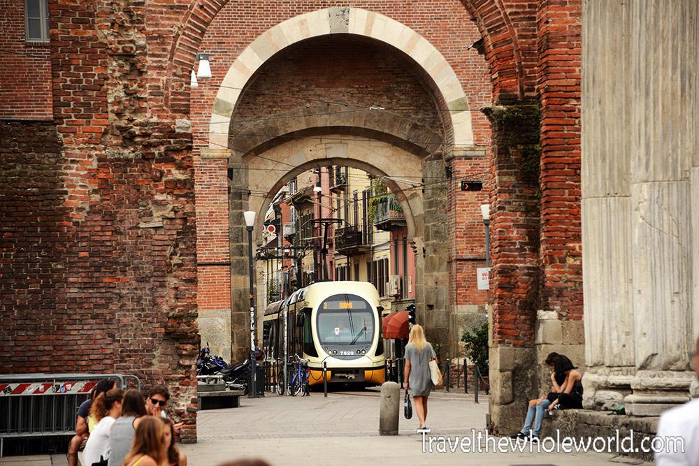 Travel Photos Italy Milan Tram