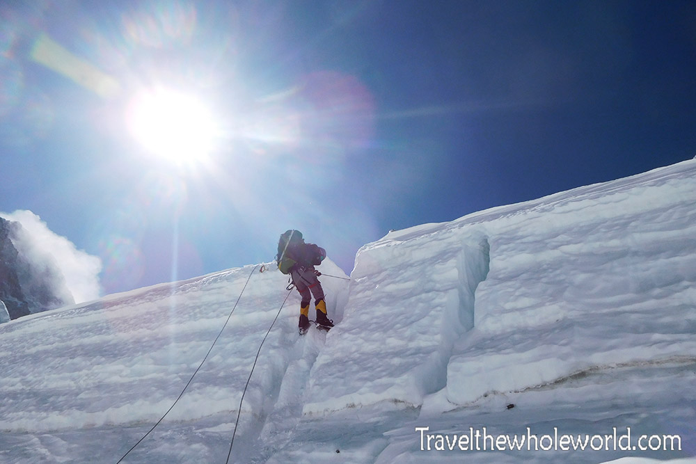 Nepal Mt Everest Western Cwm Rappel