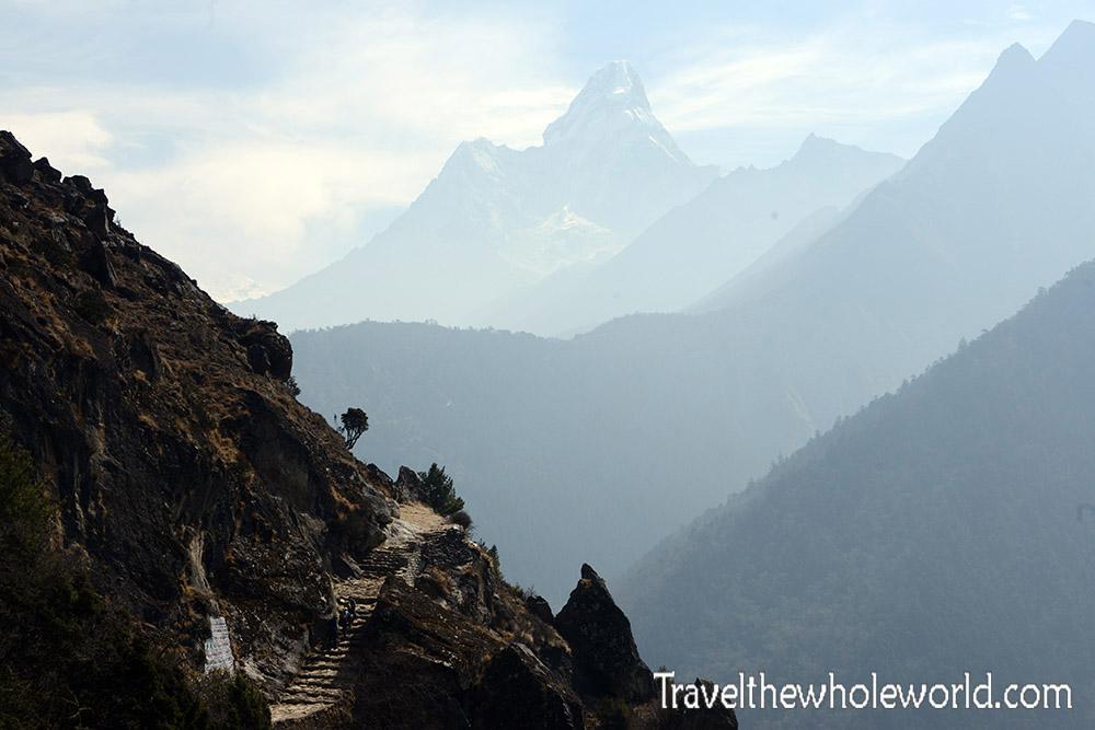 Nepal Khumbu Valley Ama Dablam