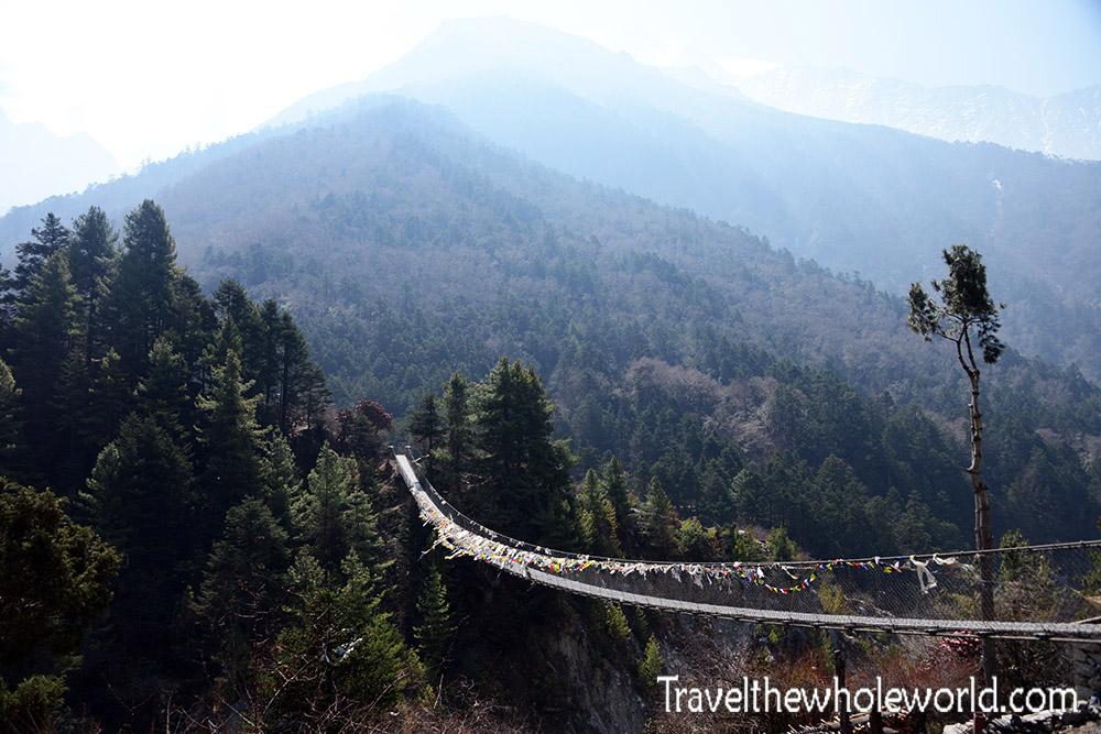 Nepal Khumbu Valley Bridge