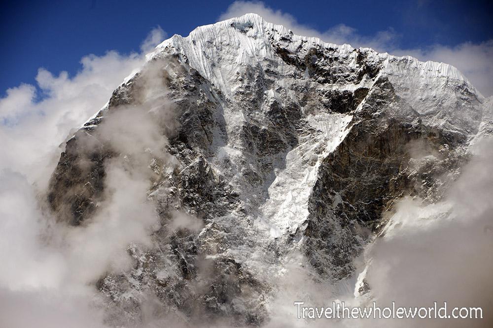 Nepal Khumbu Valley Cholatse Peak