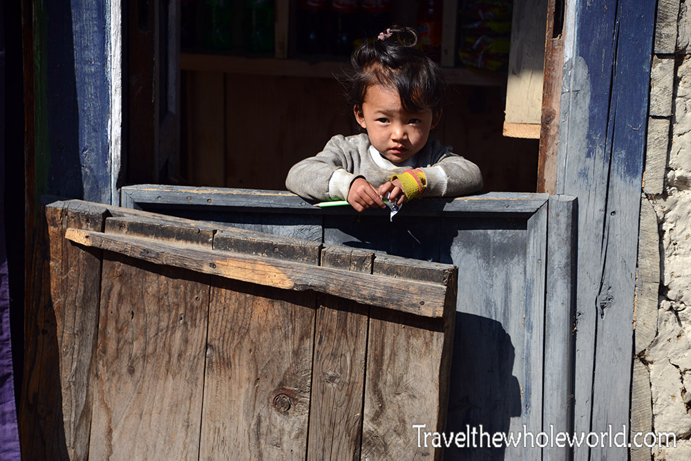 Nepal Khumbu Valley Girl