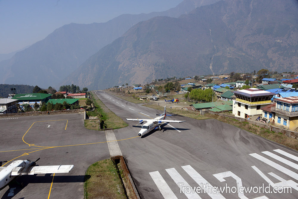 Nepal-Khumbu Valley Lukla Airfield
