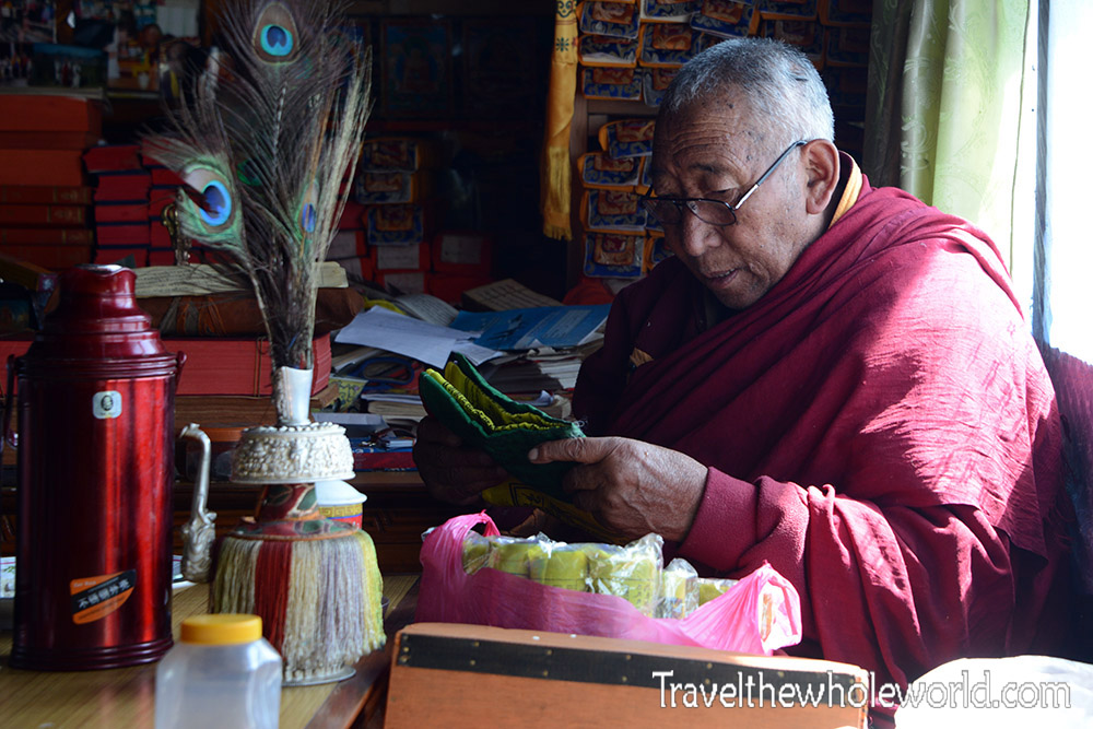 Nepal Khumbu Valley Monk