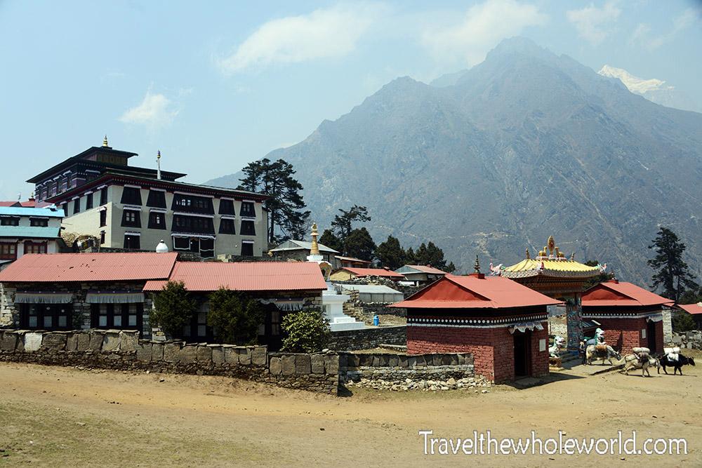 Nepal Khumbu Valley Tengboche Monastery