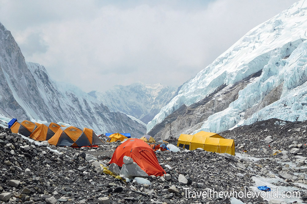 Nepal Mt Everest Camp II