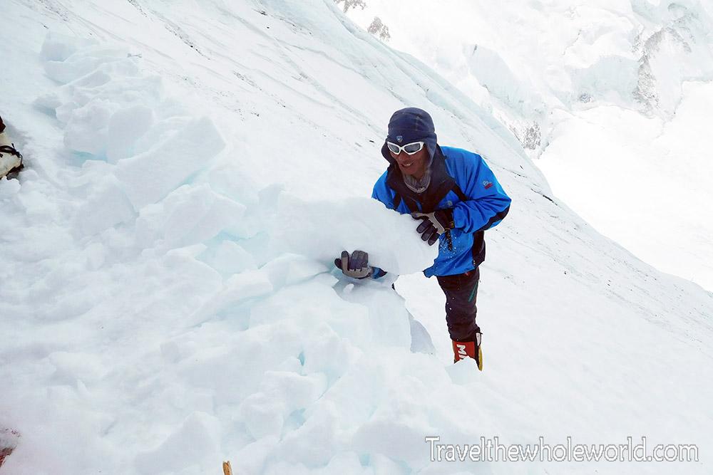 Mt Everest Camp III Ice