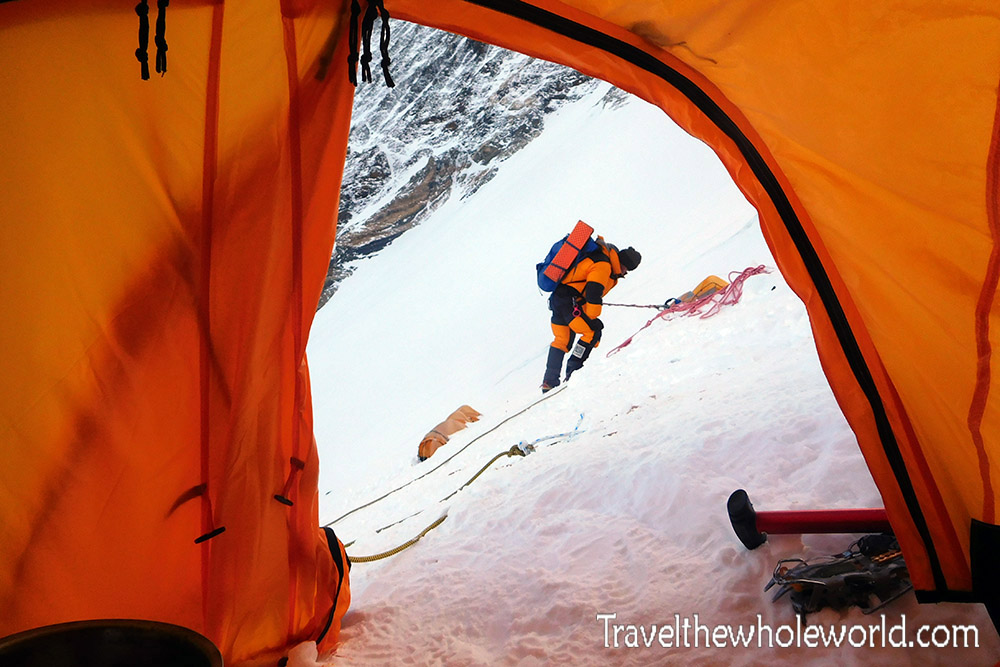 Mt Everest Camp III Tent View