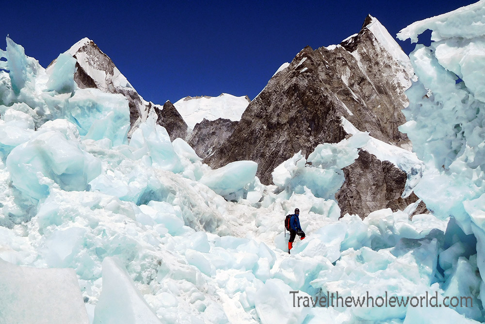 Nepal Mt Everest Icefall Most Dangerous Area