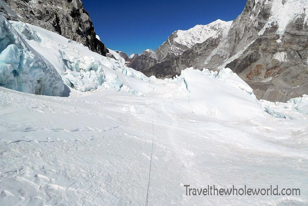 Nepal Mt Everest Icefall Halfway