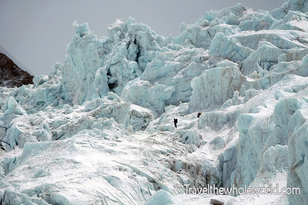 Nepal Mt. Everest Icefall