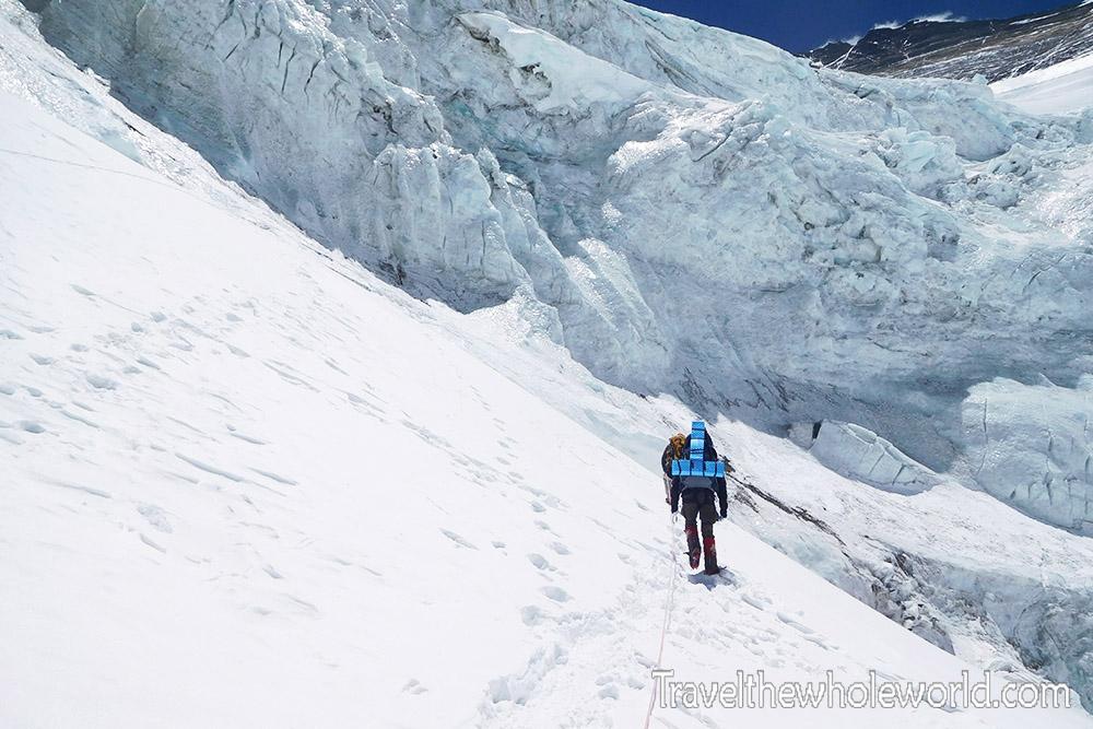 Mt Everest Lhotse Face Approach