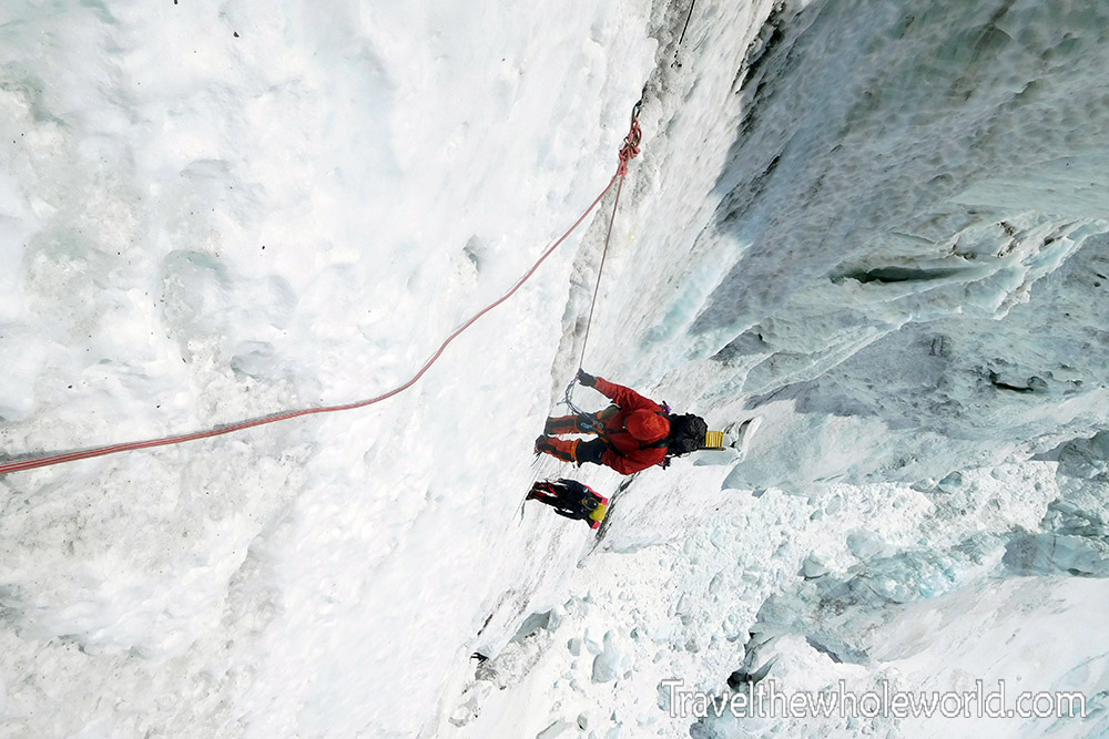 Mt Everest Lhotse Face Climbing