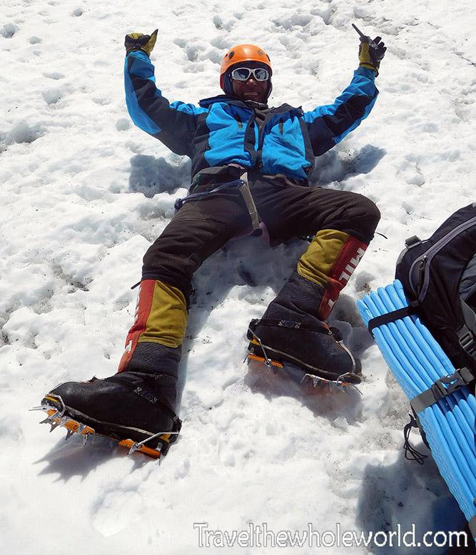 Mt Everest Lhotse Face Sherpa