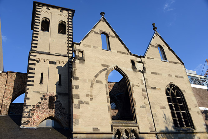 Germany Cologne Cathedral Church Destroyed St. Alban's