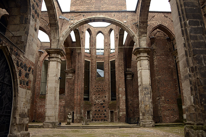 Germany WWI Church Destroyed St. Alban's
