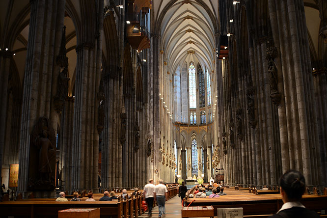 Germany Cologne Cathedral Inside