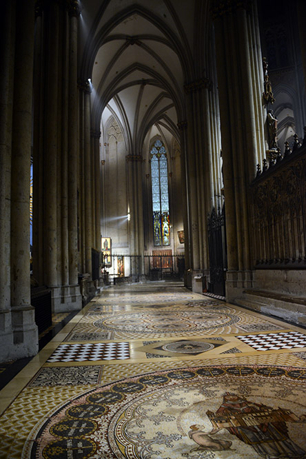 Germany Cologne Dom Cathedral Hallway