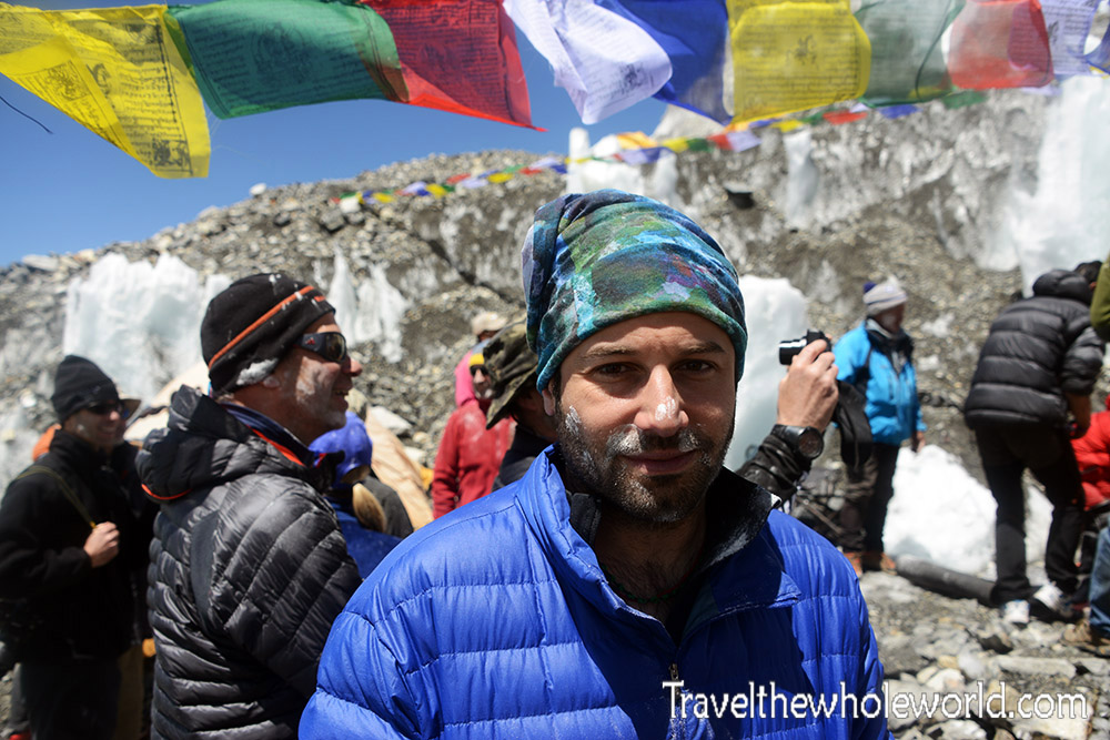 George Kashouh Mt Everest Base Camp Puja Ceremony