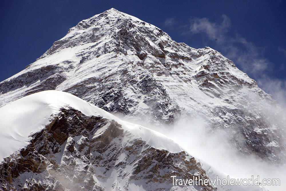 Nepal Khumbu Valley Pumori Peak Everest View