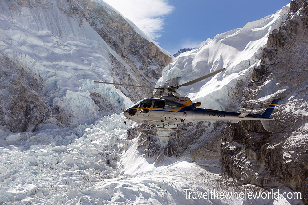 Nepal Mt Everest Base Camp Helicopter