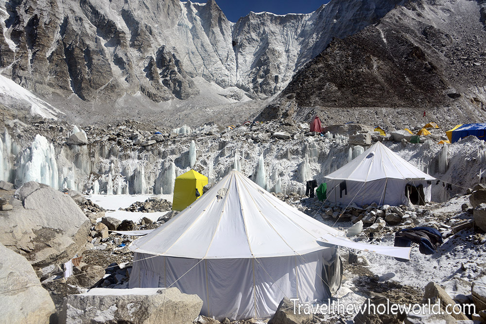 Nepal-Mt Everest Base Camp Tents