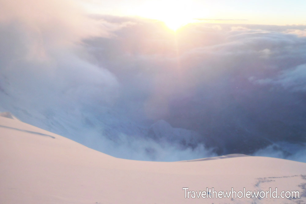 Nepal Mt Everest Death Zone View