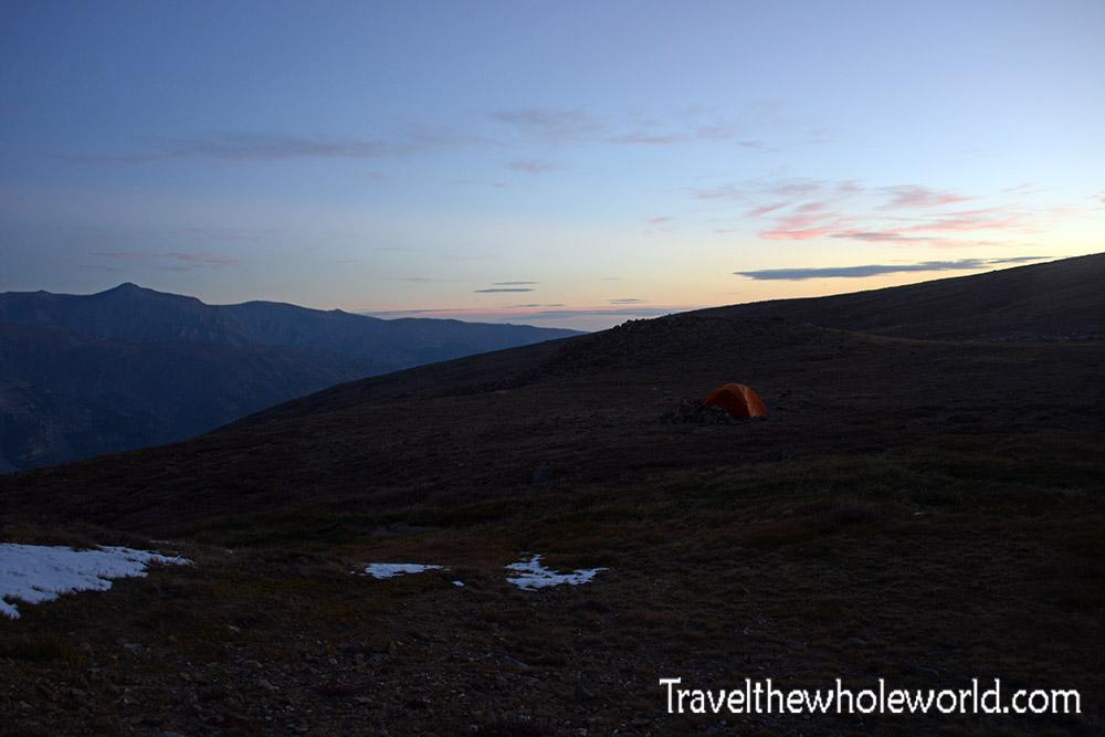 Montana Beartooth Wilderness Froze To Death Plateau Camp