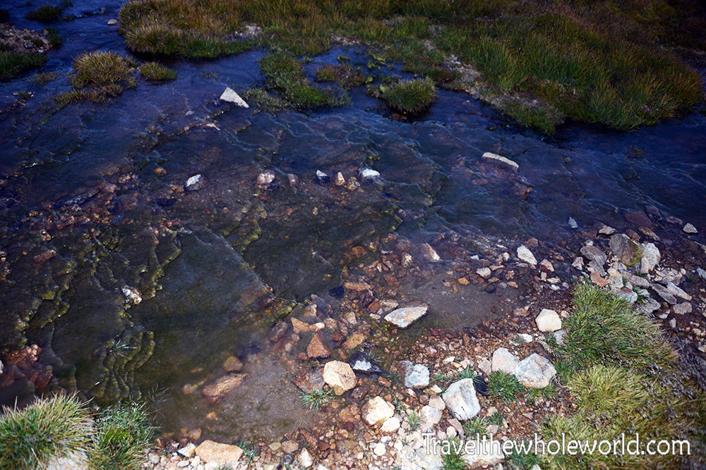 Montana Beartooth Wilderness Froze To Death Plateau Ice