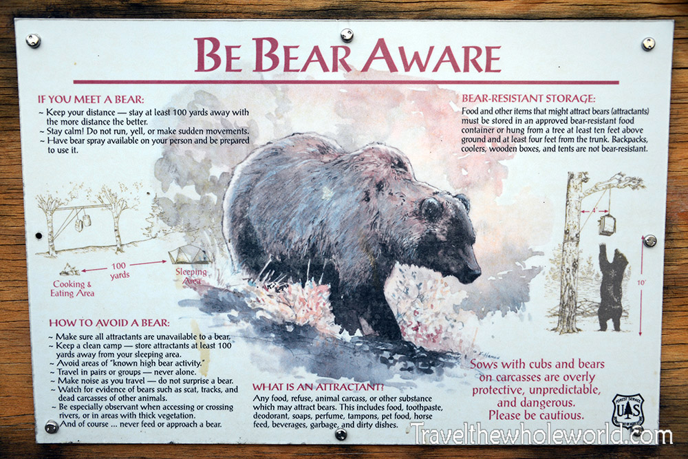 Montana Beartooth Wilderness Warning