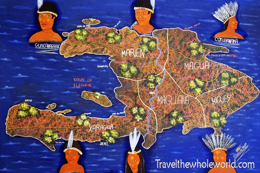 Haiti Map Natives