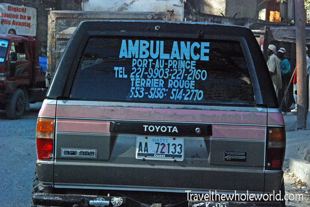 Haiti Port Au Prince Ambulance
