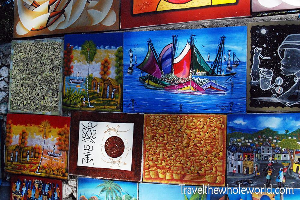 Haitin Port Au Prince Artwork