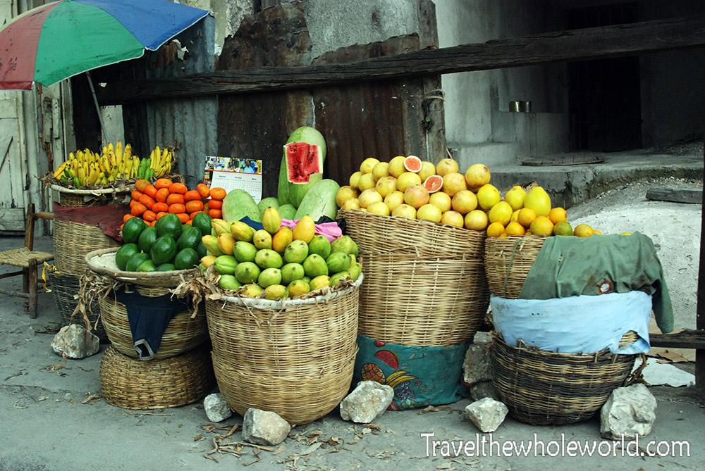 Haiti Port Au Prince Fruits