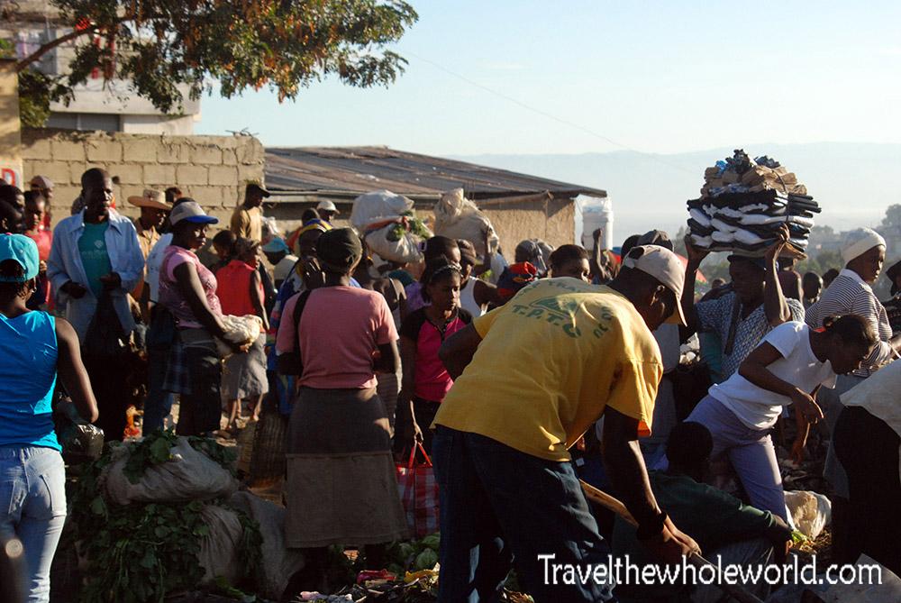 Haiti Port Au Prince Market