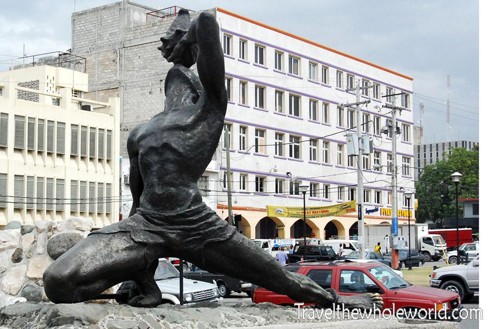 Haiti Port Au Prince Slave Statue