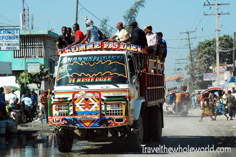 Haiti Port Au Prince Tap Tap