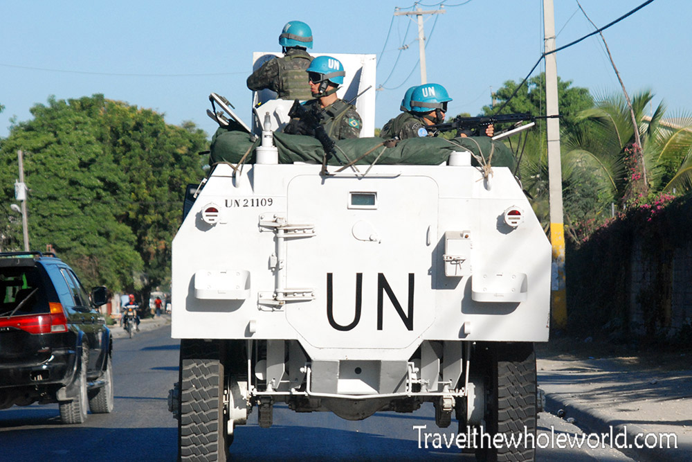 Port Au Prince UN Troops