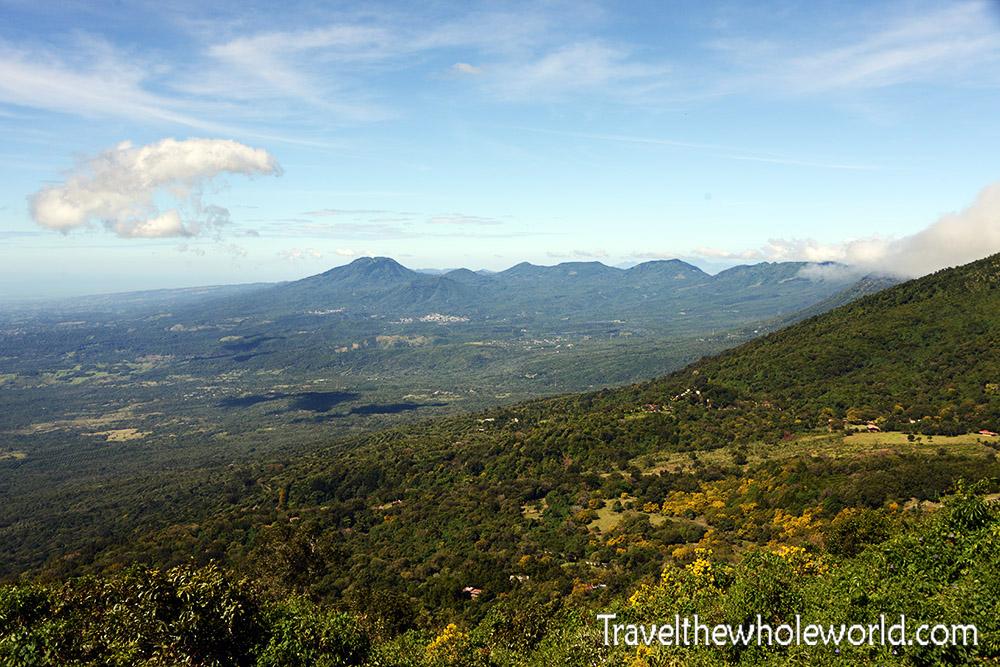 El Salvador Cerro Verde View
