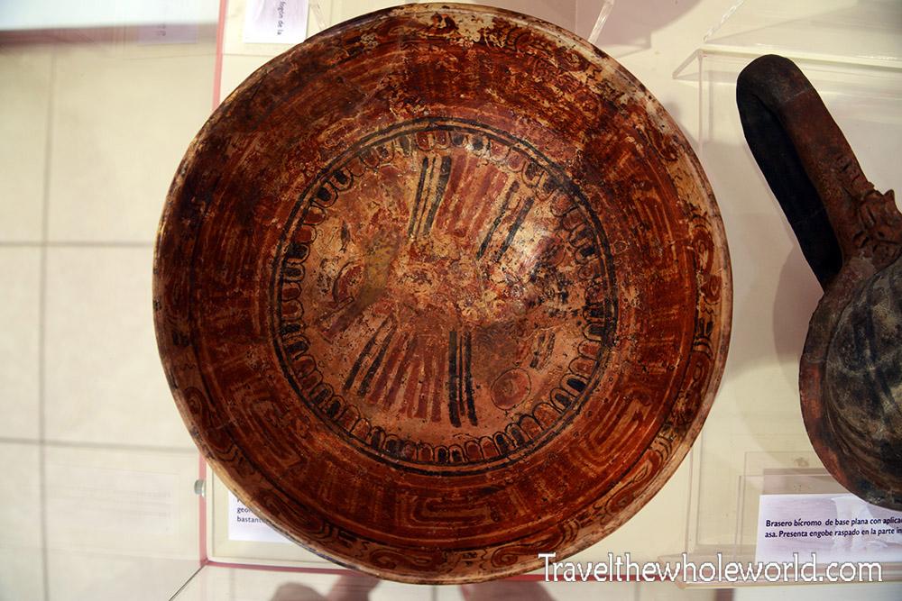 El Salvador Joya de Ceren Mayan Bowl
