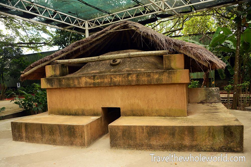 El Salvador Joya de Ceren Replica Sauna